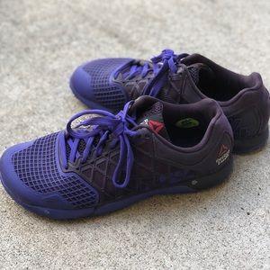 Reebok Crossfit CF74 Women's Size 9 Shoes Purple